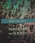Sociology Windows on Society, an Anthology