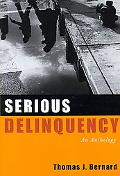 Serious Delinquency An Anthology