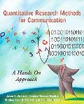 Quantitative Research Methods for Communication