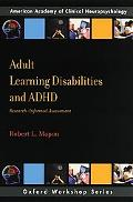 A Guide to Assessment of Learning Disabilities and Attention-Deficit/Hyperactivity Disorder ...