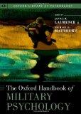 Oxford Handbook of Military Psychology