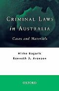 Criminal Laws In Australia Cases And Materials