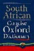 South African Concise Oxford Dictionary