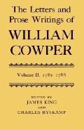 Letters and Prose Writings of William Cowper/Letters 1782-1786