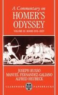 Commentary on Homer's Odyssey Books Xvii-Xxiv