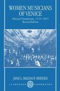 Women Musicians of Venice Musical Foundations, 1525-1855