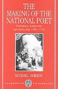 Making of the National Poet Shakespeare, Adaptation and Authorship, 1660-1769