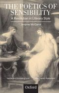 Poetics of Sensibility A Revolution in Literary Style