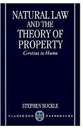 Natural Law and the Theory of Property Grotius to Hume