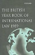 British Year Book of International Law 1989