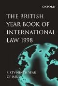 British Year Book of International Law 1998 Sixty-Ninth Year of Issue