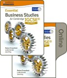 Essential Business Studies for Cambridge IGCSE: Print and Online Student Book Pack