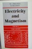 Electricity and Magnetism, Vol. 2