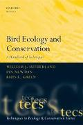 Bird Ecology and Conservation A Handbook of Techniques