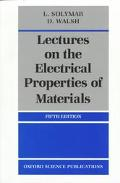 Lectures on Electrical Prop.of Mtrls.