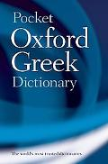 Pocket Oxford Greek Dictionary Greek-English English-Greek