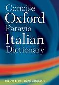 Dic Concise Oxford-Paravia Italian Dictionary