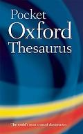 Pocket Oxford Thesaurus - Maurice Waite - Hardcover