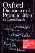 Oxford Dict.of Pronunciation F/current.
