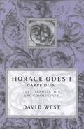 Carpe Diem Horace Odes I