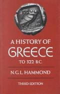 History of Greece to 322 B.C