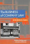 Business of Company Law: An Introduction for Students