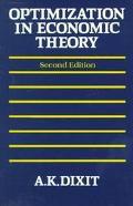 Optimization to Economic Theory