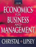 Economics for Business and Management - K. Alec Chrystal - Paperback