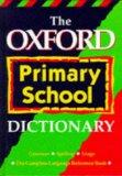The Oxford Primary School Dictionary