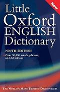 Little Oxford English Dictionary