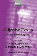 Adjective Classes A Cross-Linguistic Typology