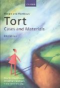 Tort Cases and Materials 6th