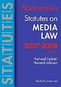 Blackstone's Statutes Media Law