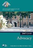 Advocacy 07-08