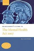 Blackstone's Guide to the Mental Health Amendment Act 2006