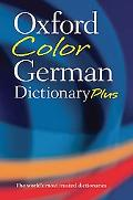 Oxford Color German Dictionary Pluss