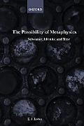 Possibility of Metaphysics Substance, Identity, and Time