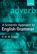 Semantic Approach to English Grammar