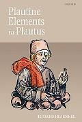 Plautine Elements in Plautus (Plautinisches im Plautus)