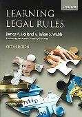 Learning Legal Rules A Students' Guide To Legal Method And Reasoning