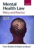 Mental Health Law: Policy and Practice - Peter L. Bartlett - Paperback