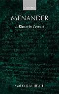 Menander A Rhetor in Context