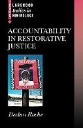 Accountability in Restorative Justice