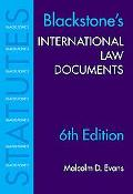 Blackstone's International Law Documents
