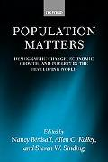 Population Matters Demographic Change, Economic Growth, and Poverty in the Developing World