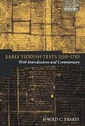 Early Yiddish Texts 1100-1750