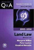 Questions And Answers Land Law 2005-2006