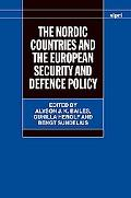 Nordic Countries and the European Security and Defence Policy