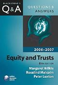 Equity & Trusts 2006-2007