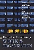 Oxford Handbook of Work And Organization